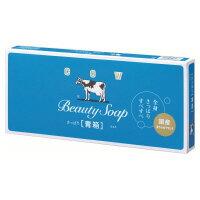 【牛乳石鹸共進社】 カウブランド 青箱 85g×6個 077718 入数:1 ★お得な10個パック★