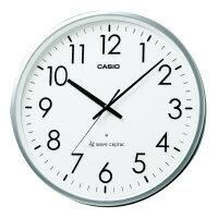 【カシオ計算機】 電波時計 IQ−2000J−8JF 直径360×54mmIQ−2000J−8JF 入数:1 ★お得な10個パック:シミズ事務機
