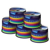 【三菱化学】 データ用DVD−R4.7GB1−16倍速 50枚×5(スピンドルケース)IJP対応DHR47JP50V3C 入数:1 ★お得な10個パック