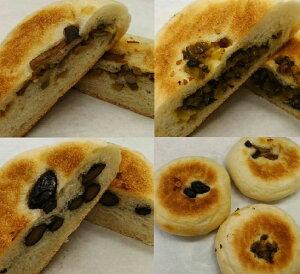 まかないで作った野菜不足解消の健康パン。天然酵母のお焼きパン3個