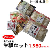 清水屋製麺生麺お試しセット