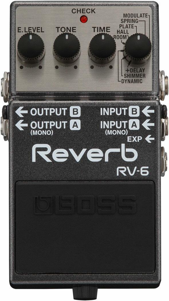 ギター用アクセサリー・パーツ, エフェクター BOSS Reverb RV-6