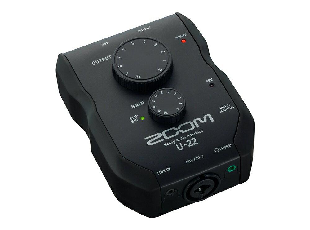 DAW・DTM・レコーダー, オーディオインターフェイス ZOOM U-22( U22)