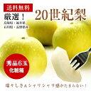 鳥取・福井・石川・長野県産二十世紀梨秀品6玉化粧箱