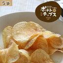 【産地こだわり!】ポテトチップス5袋静岡県産三方原馬鈴薯100%1袋100g入り