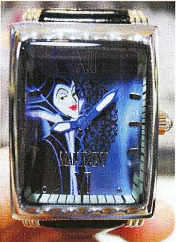 ディズニーウォッチ 限定商品マレフィセント 眠れる森の美女Limited Edition ベルトカラーパープ...