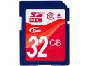 Team SDHC Card 容量:32GB SDメモリカード Class10型番 TG032G0S