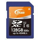 SDXC、128GB、型番TSDXC128GUHS01