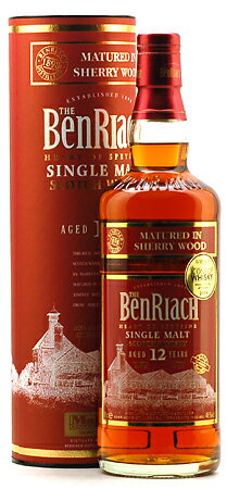 Benriach 12 years cherrywood