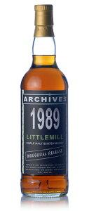 【S12】◆アーカイヴズリトルミル22年 (Littlemill 22y) [1989]リフィルシェリーホグスヘッド