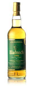 【S12】◆ブラドノック21年 (Bladnoch 21y) [1990] シェリーバット for Bar Show
