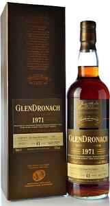 【S12】◆グレンドロナック41年 [1971](GLENDRONACH 41yo )PXシェリーパンチョンLimited Release 2012※お一人様1本限りとさせて頂きます。