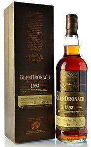 【S12】◆グレンドロナック19年 (Glendronach 19y) [1993]オロロソシェリーバットLimited Release2012