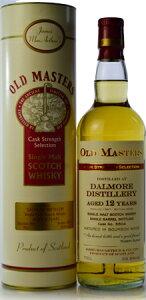 【S12】ジェームズ マッカーサー OLD MASTERSダルモア 12年 [1997] (Dalmore 12yo)