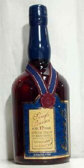 Ezra, Brooks and single barrel 12 years (750 ml)