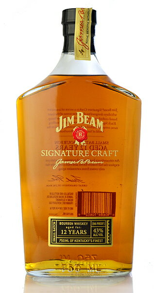 ■ Jim beam 12-year signature craft (Gana) ※ when receiving ship until 2-3 business days time is here.
