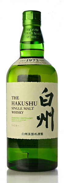Suntory single malt hakushu