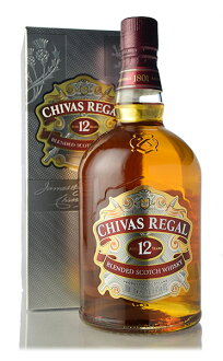 And Chivas Regal 12 years (normally 1,000 ml)