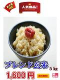 【令和元年新米】送料無料(一部に地域を除く)未熟米(青いお米)や小粒などを含みます。近畿産のブレンド玄米5kg