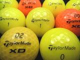 テーラーメイドカラーボール混合30P【ロストボール】【ゴルフボール】【あす楽対応_近畿】【中古】