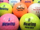 【送料無料】NEWING系カラーボール混合30P【カラーボール】【ゴルフボール】【あす楽対応_近畿】【中古】