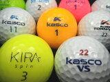 【送料無料】KASCOキャスコキャスコ銘柄混合30P【ロストボール】【ゴルフボール】【あす楽対応_近畿】【中古】