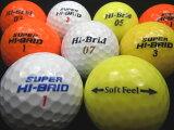ハイブリッド・スーパーハイブリッド3色混合30球【ロストボール】【ゴルフボール】【あす楽対応_近畿】【中古】