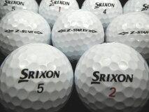 【送料無料】SRIXONスリクソンZ−STARorZ−STARXV15年モデルホワイト20P【ロストボール】【ゴルフボール】【あす楽対応_近畿】【中古】