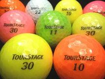 【送料無料】BRIDGESTONE(ブリヂストン)ツアーステージV1008年〜12年モデルカラーボール混合20P【ロストボール】【ゴルフボール】【あす楽対応_近畿】【中古】