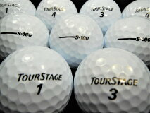 【送料無料】BRIDGESTONEツアーステージ-S・100カラー選択30P【ロストボール】【ゴルフボール】【あす楽対応_近畿】【中古】