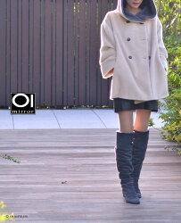 究極の防寒ブーツオールムートンニーハイブーツレザーロングブーツレディース高級本革2way温かい暖かいローヒールイタリアブランドスエードレザーモカシンサイドファスナー大きいサイズグレーブラック黒送料無料40代50代60代疲れない靴