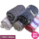 毛布 ハーフ サイズ 【送料無料】訳あり品 〔色柄おまかせ〕プリント柄毛布 ハーフケット 〔100×140cm〕 手洗い可能 ポリエステル毛布 Half Blanket 〔MF-140PT〕