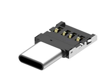変換アダプタ 小型 OTG USB to Type C データ 移行 スマホ スマートフォン タブレット android Xperia アンドロイド エクスペリア フラッシュメモリ 画像 動画 保存 引っ越し 送料無料