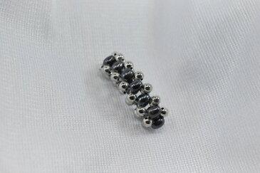 淡水 真珠 3連 ゴム編み込みリング タイプ3 svカラー  、 淡水 ブラックカラー    532P15May16   ポイント5倍
