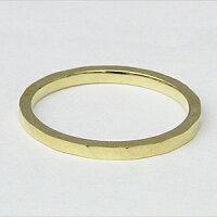 K18ゴールドマリッジリング地金男性用指輪デザインカットリングシンプル婚約指輪メンズリング【RCP】