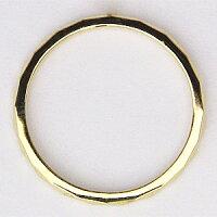 デザインカットリングK18メンズリング結婚指輪ゴールド地金ジュエリーシンプル指輪【RCP】