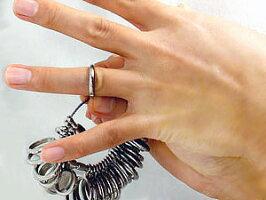 リングゲージ国産リングゲージ明工舎指のサイズを測る1号から30号まで計測可能プロ仕様サイズゲージ【RCP】