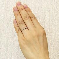 ブルーダイヤモンドリングダイヤモンドマリッジリングK18ホワイトゴールド結婚指輪【RCP】