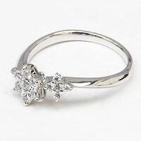 ダイヤモンドリングダイヤモンド指輪ダイヤ0.27ctホワイトゴールドK18WG【RCP】
