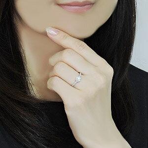 ダイヤリング ダイヤモンドリング ダイヤモンド指輪 ダイヤモンド 0.35ct ダイヤモンド K18WG レディース ジュエリー