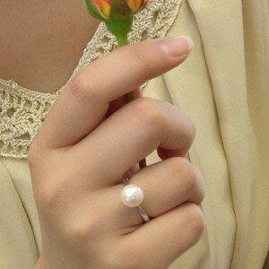 パールリング レディース 真珠の指輪 あこや真珠 K10ホワイトゴールド アコヤ あこや 真珠の指輪 リング パールリング 6月誕生石 ジュエリー 贈答 プレゼント 冠婚葬祭 結婚 ブライダル 入学 入園 卒業 卒園 保証書付 ケース付