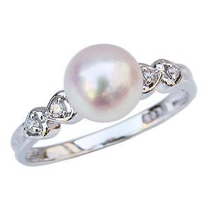 パールリング レディース 真珠の指輪 あこや本真珠 プラチナ 7mm アコヤ あこや 真珠の指輪 パールリング 6月誕生石 ジュエリー 贈答 冠婚葬祭 結婚 ブライダル 入学 入園 卒業 卒園 保証書付