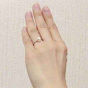 パールリング レディース 真珠の指輪 あこや本真珠 PT900 プラチナ 7mm オンリーパール デザインカットリング シンプル アコヤ あこや 真珠の指輪 6月誕生石 ジュエリー 贈答 冠婚葬祭 結婚 ブライダル 入学 卒業 保証書付 ケース付