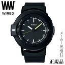 SEIKO ワイアード WIRED WW ツーダブ TYPE01 ブラック Bluetooth 男性用 クオーツ アナログ 腕時計 正規品 1年保証書付 AGAB401