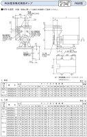 荏原製作所RQD型20RQED6.2S自吸式過流ポンプ60Hz【西日本電力地域】【100V】