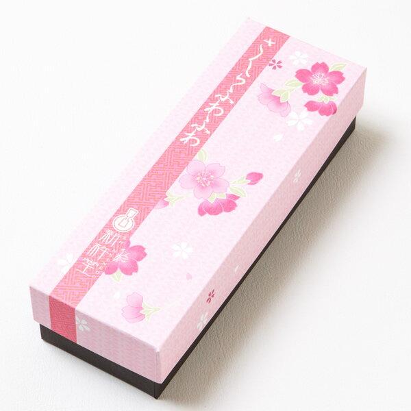 桜の風味が漂う和風ケーキ「桜ふわふわ」 1本 / 新杵堂 洋菓子 桜 さくら サクラ スイーツ ケーキ ギフト お土産