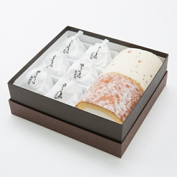 Wロール&栗きんとん 【あす楽】 / 新杵堂 ロールケーキ くりきんとん ギフトセット お土産 スイーツ