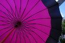 60センチ、24本骨の蛇の目風和傘豊富なカラーバリーションも魅力!!【雨傘】蛇の目風和傘24本...