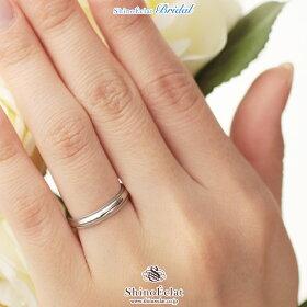 K18WGミルグレイン・マリッジリング・結婚指輪4mm/ホワイトゴールド/人気/ランキング/通販(着用)