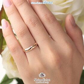 K18RG(鍛造)スタンダード・マリッジリング・結婚指輪4mm/ピンクゴールド/人気/ランキング/通販(着用)